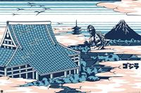 GBeye Godzilla rooftop Poster 91.5x61cm