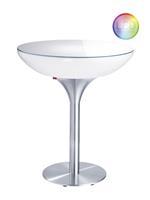 Moree Lounge Outdoor LED Pro Bartafel Met Accu -Ø84 X H105 Cm
