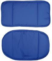Roba stoelverkleiner Canvas junior polyester blauw 2 delig
