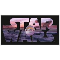 Star Wars Strandlaken Mandalorian - 70 X 140 Cm - Katoen