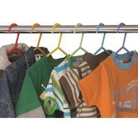 6 Stuks Kledinghangers In Verschillende Kleuren - Kinderkleding - Opberggen