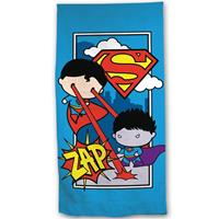 Superman Strandlaken Zap - 70 X 140 Cm - Katoen