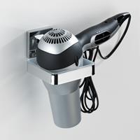 Home24 Föhnhouder Vacuum-Loc Quadro, WENKO