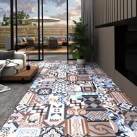 vidaXL Vloerplanken 20 st zelfklevend 1,86 m² PVC effen patroon