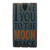 Home24 Afbeelding Love to the Moon, My Flair