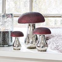 LOBERON Decoratiepaddenstoelen set van 3 Vejolles