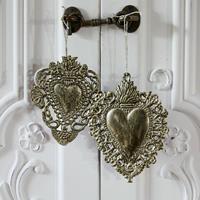 LOBERON Decoratief ornament set van 2 Medes