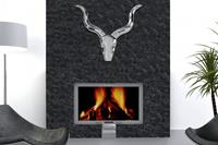Invicta Interior Decoratie Gewei Style Zilver Rocks - 8914