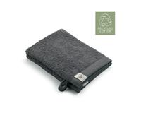 Walra 2x washandjes - Remade Cotton - Antraciet - 16x21cm  - 550 gram - Katoen / Organic