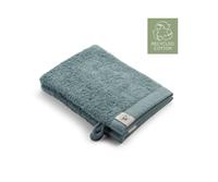Walra 2x washandjes - Remade Cotton - Jade - 16x21cm  - 550 gram - Katoen / Organic