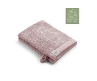 Walra 2x washandjes - Remade Cotton - Poeder Roze - 16x21cm  - 550 gram - Katoen / Organic