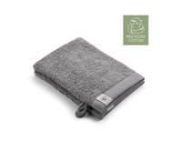 Walra 2x washandjes - Remade Cotton - Taupe - 16x21cm  - 550 gram - Katoen / Organic
