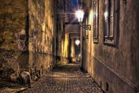 Street Vlies Fotobehang 375x250cm 5-banen