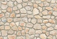 Natural Stone Wall I Vlies Fotobehang 384x260cm 8-banen
