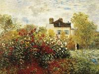 PGM Claude Monet - The Artist's Garden Kunstdruk 80x60cm