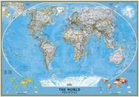 The World Political Vlies Fotobehang 400x280cm 8-banen