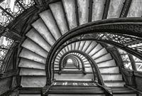 Old Stairs Vlies Fotobehang 384x260cm 8-banen