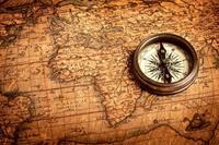Compass Vlies Fotobehang 375x250cm 5-banen