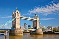 Tower Bridge Vlies Fotobehang 375x250cm 5-banen