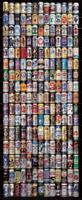 American Beer Cans Vlies Fotobehang 90x200cm