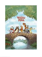 Winnie The Pooh Kunstdruk 60x80cm