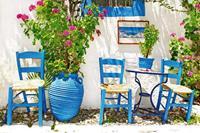 Traditional Greece Vlies Fotobehang 375x250cm 5-banen