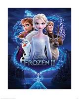 Frozen 2 Magic Kunstdruk 40x50cm