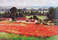 PGM Claude Monet - Nympheas Kunstdruk 21x29.7cm