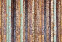 Vintage Wooden Wall Vlies Fotobehang 384x260cm 8-banen