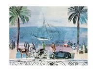 PGM Raoul Dufy - Promenade a Nice Kunstdruk 80x60cm