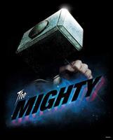 Avengers The Mighty Kunstdruk 40x50cm