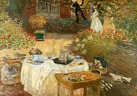 PGM Claude Monet - Le Déjeuner Kunstdruk 29.7x21cm