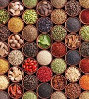 Spice Bowls Vlies Fotobehang 225x250cm 3-banen