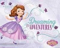 Sofia the First Dreaming Poster 50x40cm