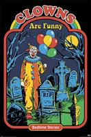 Steven Rhodes Clowns are Funny Poster 61x91,5cm