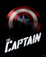 Avengers The Captain Kunstdruk 40x50cm