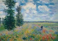 PGM Claude Monet - Les Coquelicots Kunstdruk 29.7x21cm