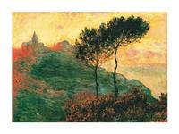 PGM Claude Monet - The Church at Varengeville Kunstdruk 80x60cm