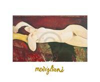 PGM Amadeo Modigliani - Grande Nudo Kunstdruk 30x24cm