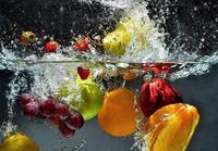 Refreshing Fruit Fotobehang 366x254cm 8-banen