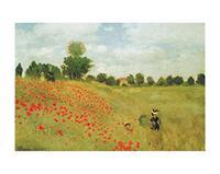 PGM Claude Monet - Papaveri Kunstdruk 50x40cm