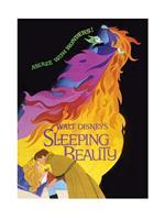 Sleeping Beauty Ablaze Kunstdruk 60x80cm