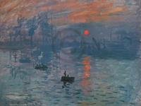 PGM Claude Monet - Impressionismo il levar Kunstdruk 80x60cm