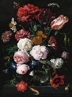Wizard+Genius Vase of Flowers Vlies Fotobehang 192x260cm 4-banen