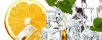 Dimex Lemon and Ice Vlies Fotobehang 375x150cm 5-banen