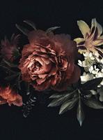 Wizard+Genius Flower Bouquet Vlies Fotobehang 192x260cm 4-banen