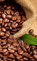 Dimex Coffee beans Vlies Fotobehang 150x250cm 2-banen