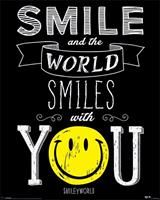 Smiley World Smiles With You Poster 40x50cm