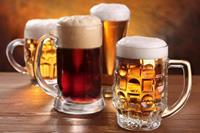 Dimex Beer Mugs Vlies Fotobehang 375x250cm 5-banen