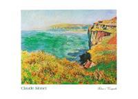 PGM Claude Monet - Falaise à Varengeville Kunstdruk 70x50cm
